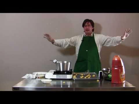 انفجار وجبة خلال برنامج للطهي على الهواء