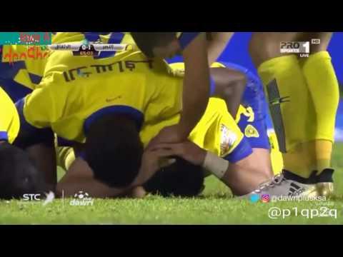 بالفيديو نادي النصر يهزم نظيره الإتفاق بهدفين نظيفين