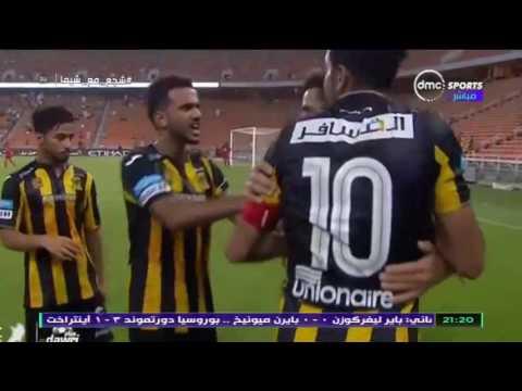 لحظة ارتداء محمود كهربا شارة كابتن فريق اتحاد جدة