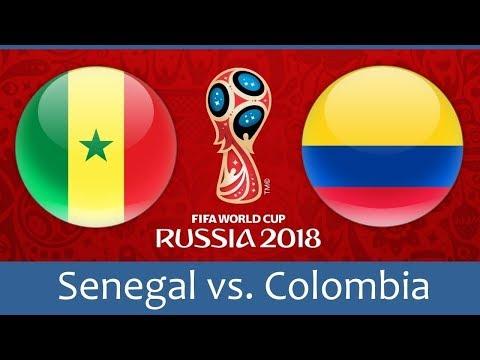 شاهد بث مباشر لمباراة السنغال وكولومبيا