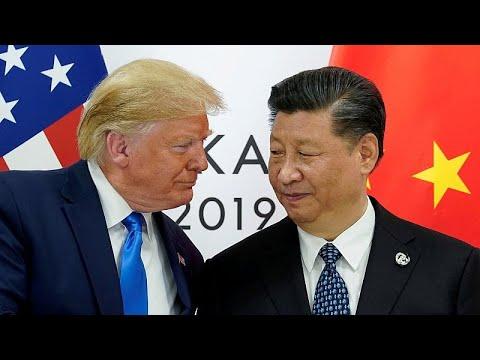 شاهد ترامب يحثّ الرئيس الصيني على لقاء المحتجين في هونغ كونغ