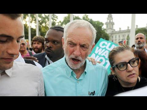 رئيس حزب العمال البريطاني يتعهد بإسقاط رئيس الوزراء وإرجاء الخروج من الاتحاد الأوروبي