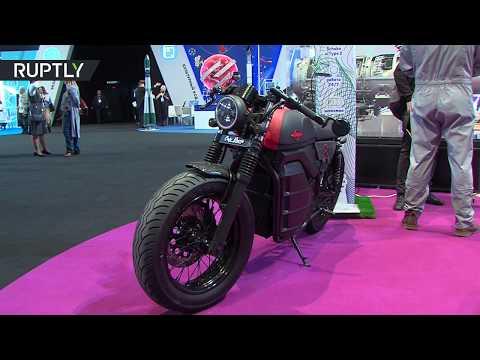 شركة كلاشنيكوف تعرض دراجتها النارية الكهربائية