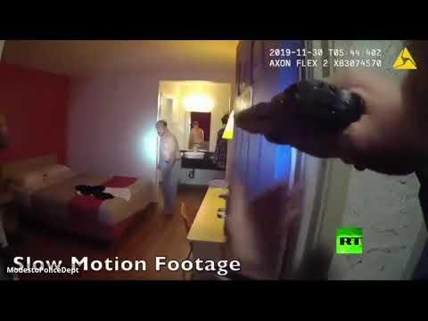 الشرطة الأميركية تقتل مطلوبًا تأخر في سحب مسدسه