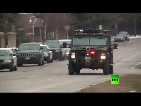 شاهد حادث إطلاق نار في مدينة ميلواكي الأميركية
