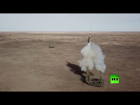 شاهد لقطات مثيرة من مناورات قوات الدفاع الجوي الروسية بأحدث الأسلحة