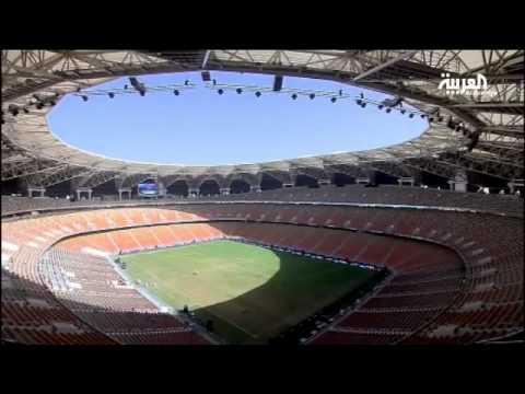 افتتاح مدينة الملك عبدالله الرِّياضيَّة في جدة