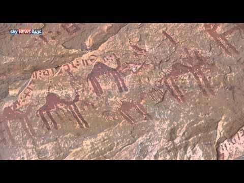 آثار جبال ككوس مُهدَّدة بالاندثار في جنوب غربي ليبيا
